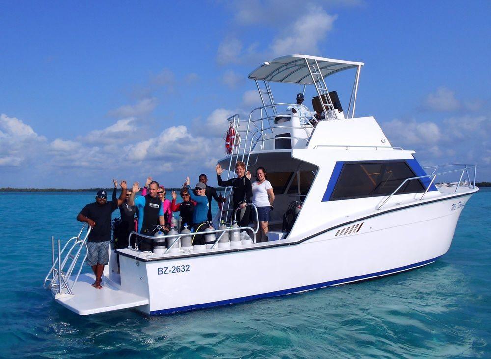 Barco Buceo en Bayahibe