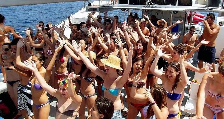 saona-excursion-party-catamaran-tour