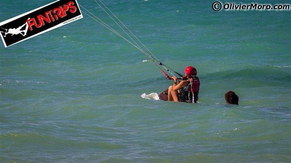 kiteboarding flying lessons