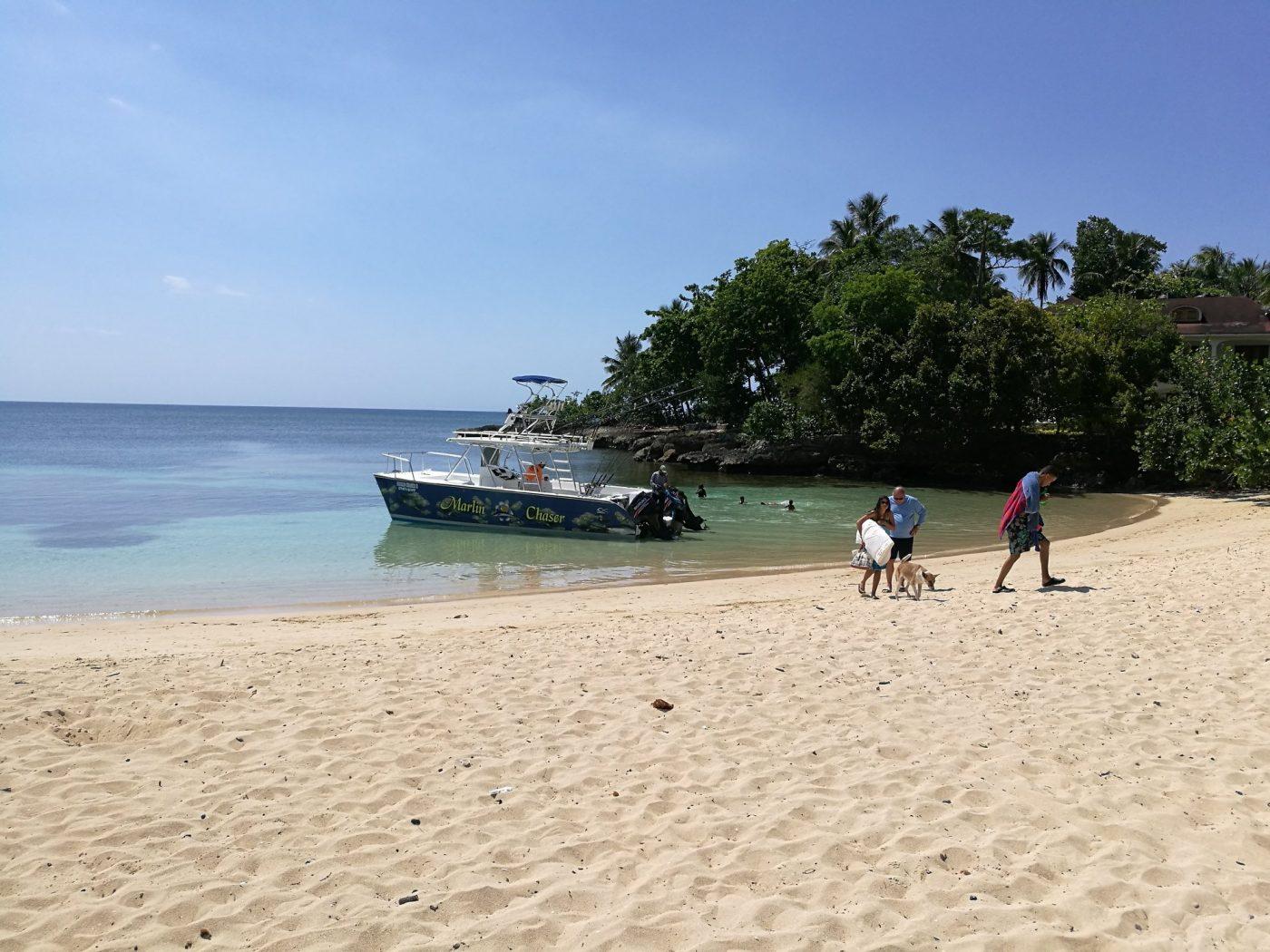 Beach in Rio San Juan