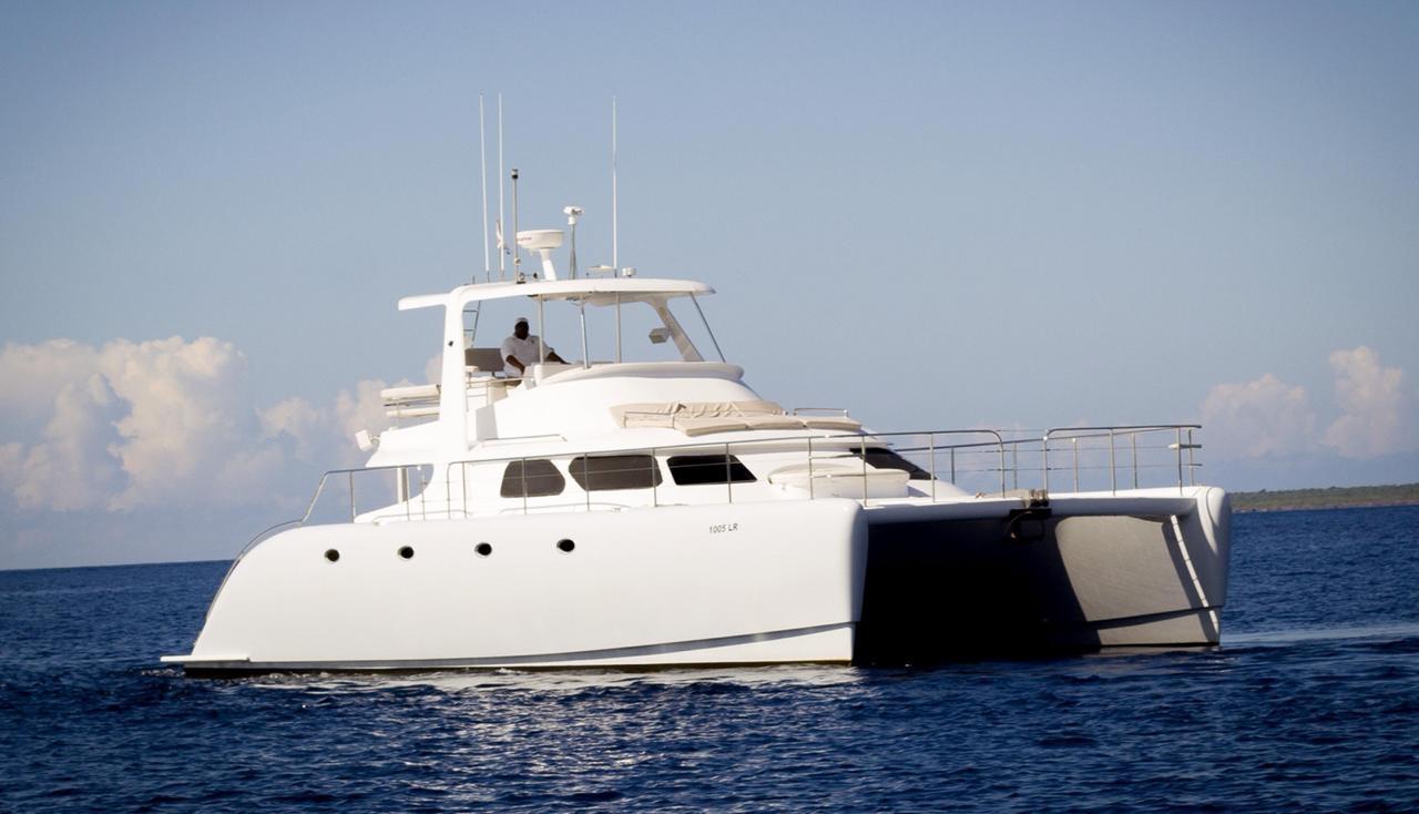 casa de campo private catamaran charter la romana