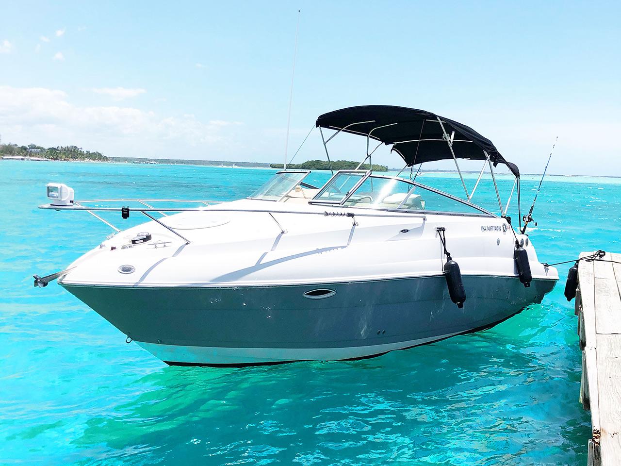 Alquilar barco en Boca Chica