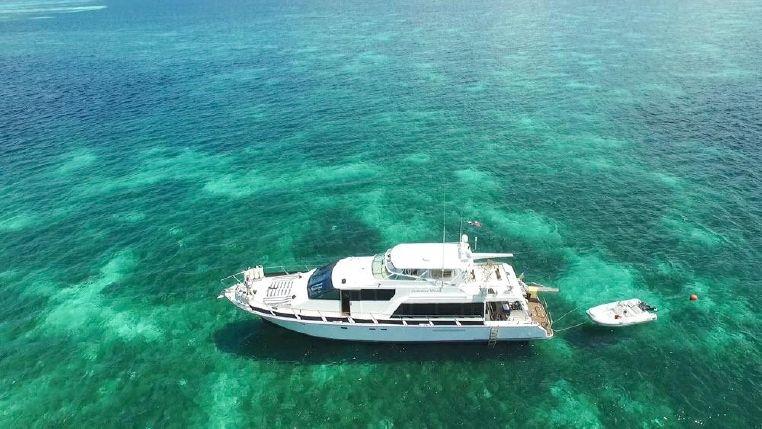 70 luxury motor yacht charter rental in casa de campo la romana dominican republic